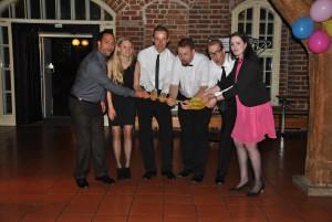 Das Gewinner-Team des Goldenen Paddels 2014.